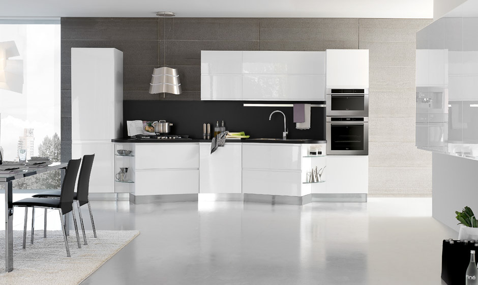 Bring Laccato Modern Kitchen Design - Eurolife