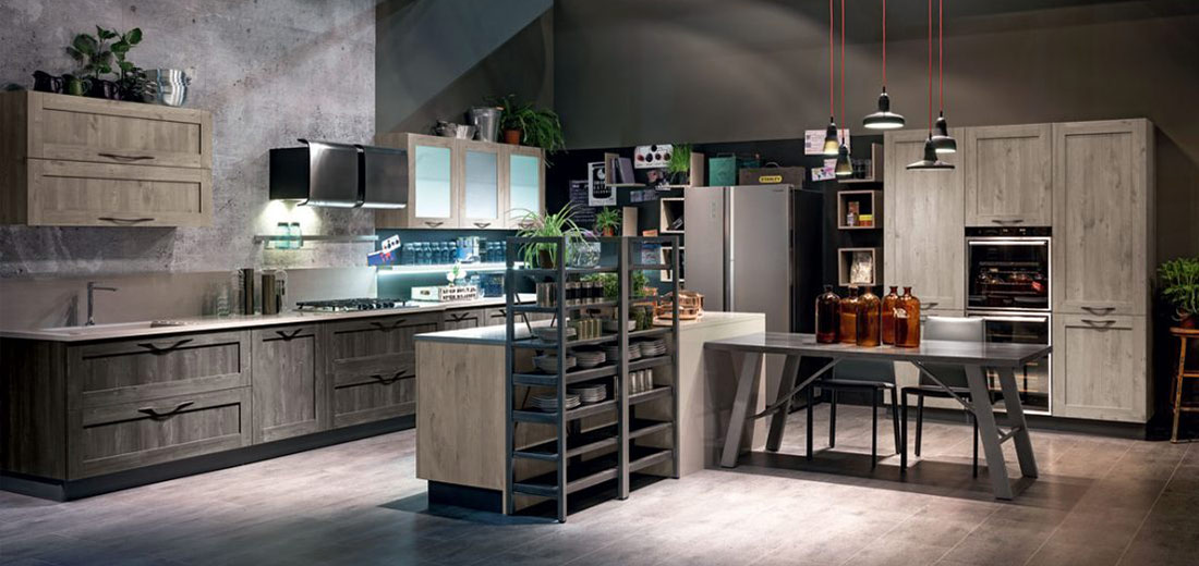European Style Kitchen Cabinets - City