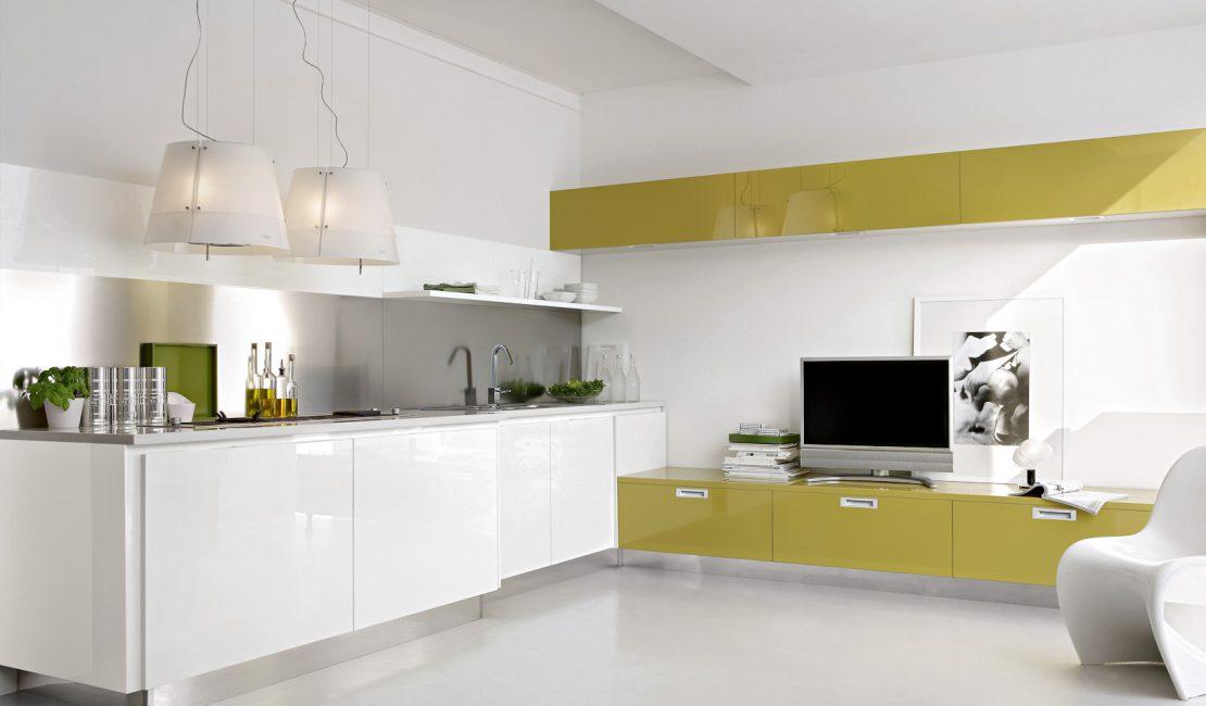 Yellow Kitchen Cabinet - Replay Gloria Sydney