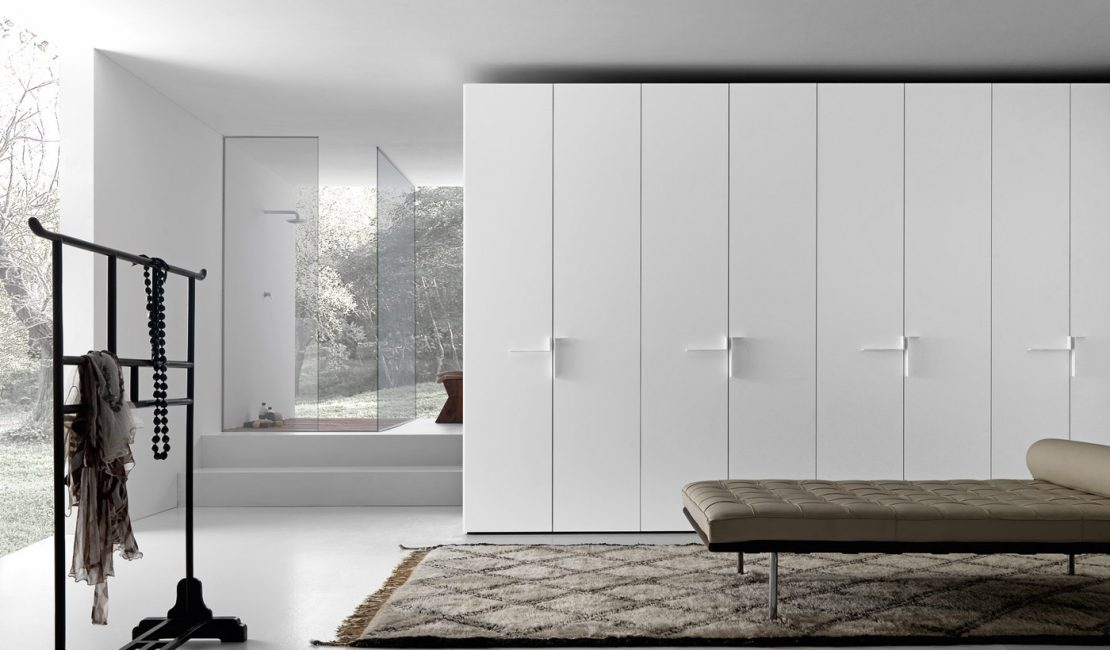Hinged Smooth Built-in Wardrobes - Eurolife Sydney