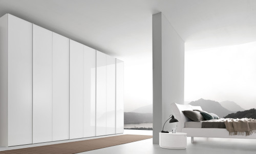 Glass Living Room - Modern European Wardrobes Sydney