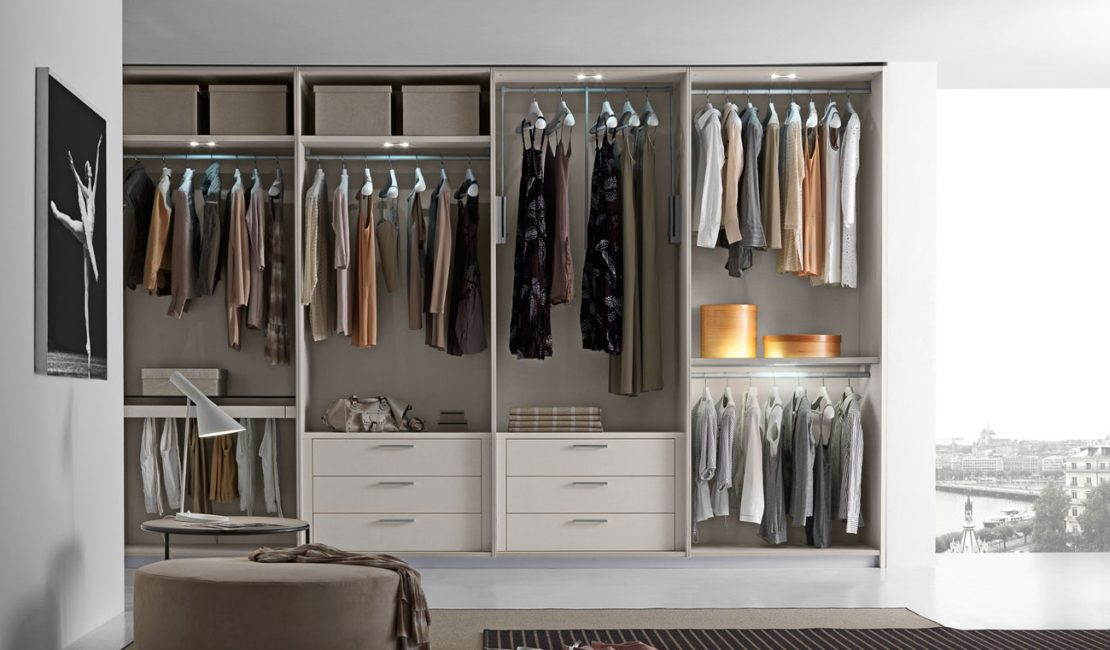 Closet Modern Walk in Wardrobes Mosman