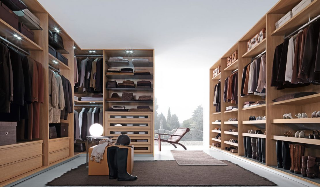 Custom Closet Walk-In Wardrobe - Eurolife Sydney