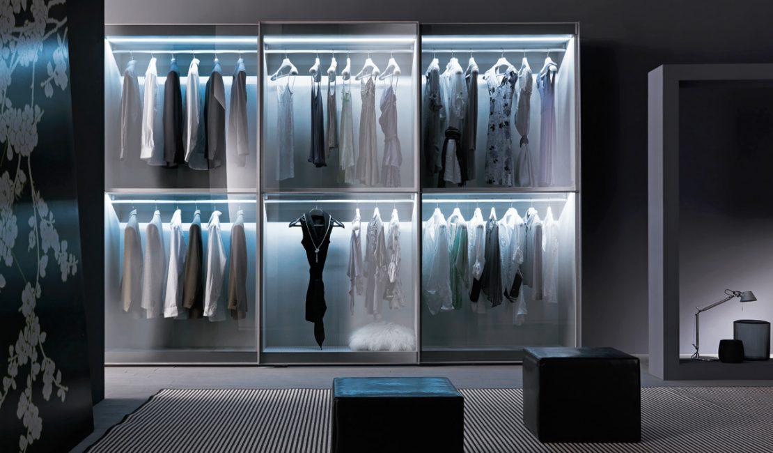 European Mirror Glass Wardrobe Designs - Eurolife Sydney