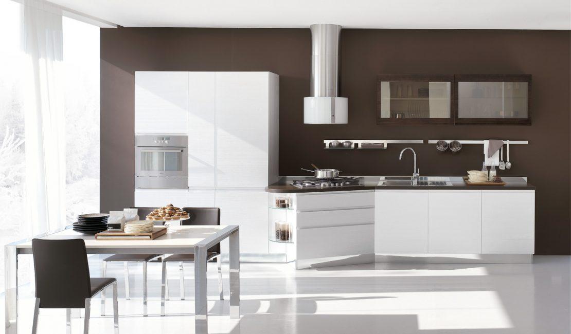 Eurolife - Brown Bring Modern Kitchen Designs Sydney
