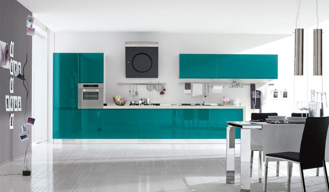 Bring - Blue European Kitchen Design Sydney