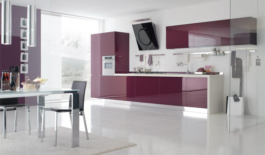 Bring - Red Modern Kitchen design Balmain Sydney