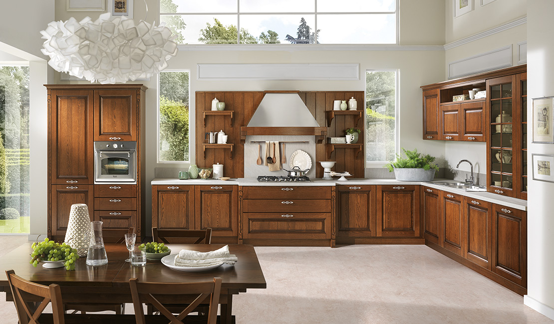 Traditional Kitchen - Wooden Cabinets Saturnia Sydney