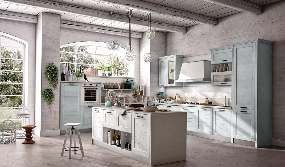 Eurolife - Cream Contemporary Kitchen Sydney