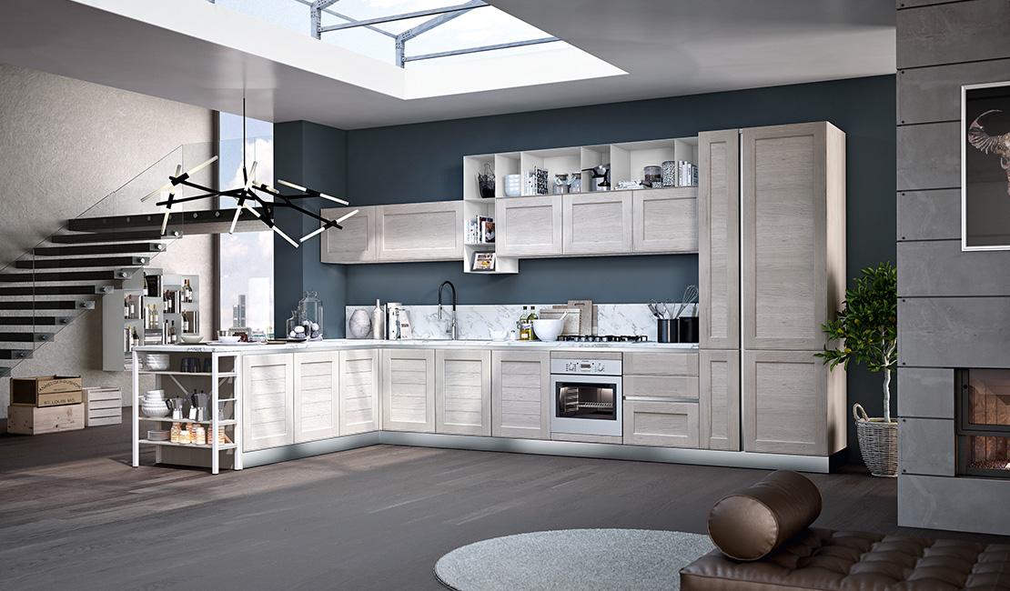 Eurolife - White Contemporary Kitchen Sydney