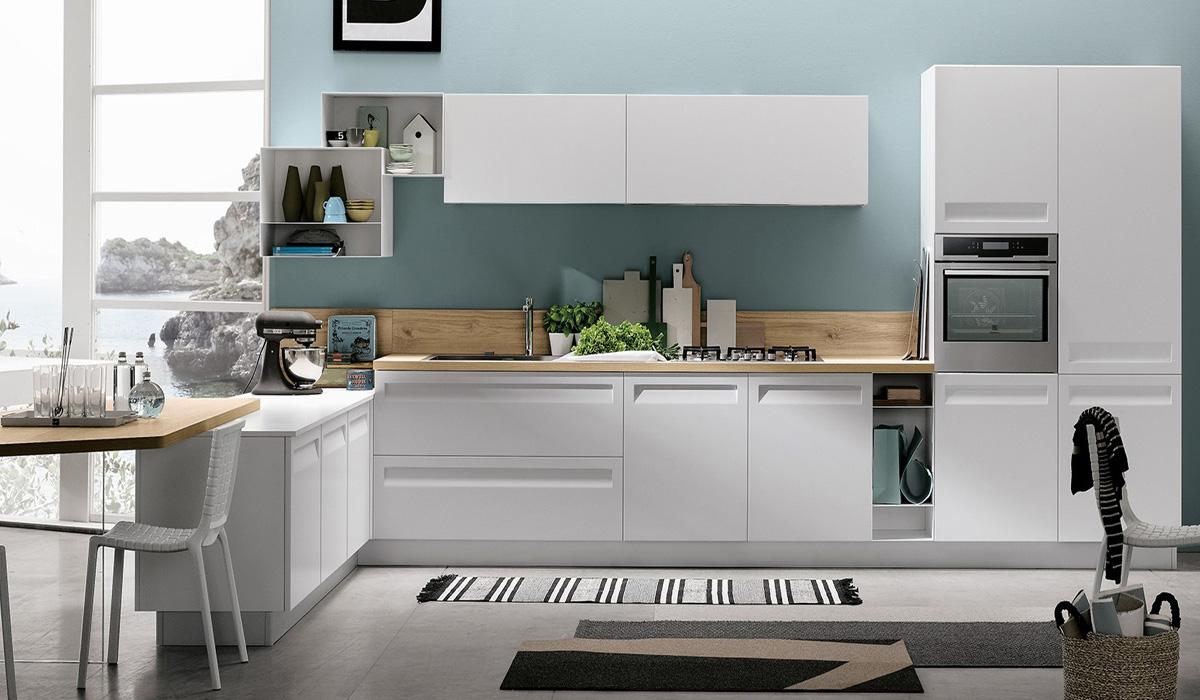 Rewind White Modern Kitchen Sydney