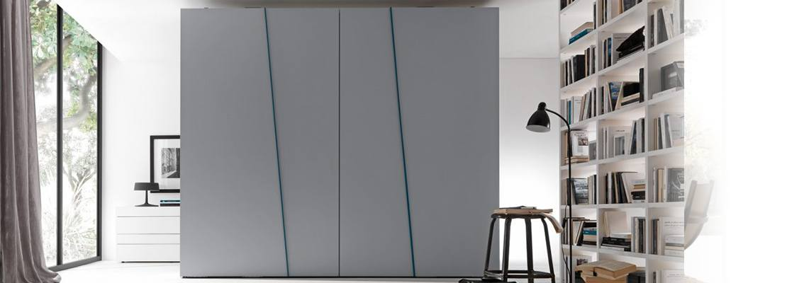 Italian Sliding Wardrobe With Doors - Eurolife Sydney