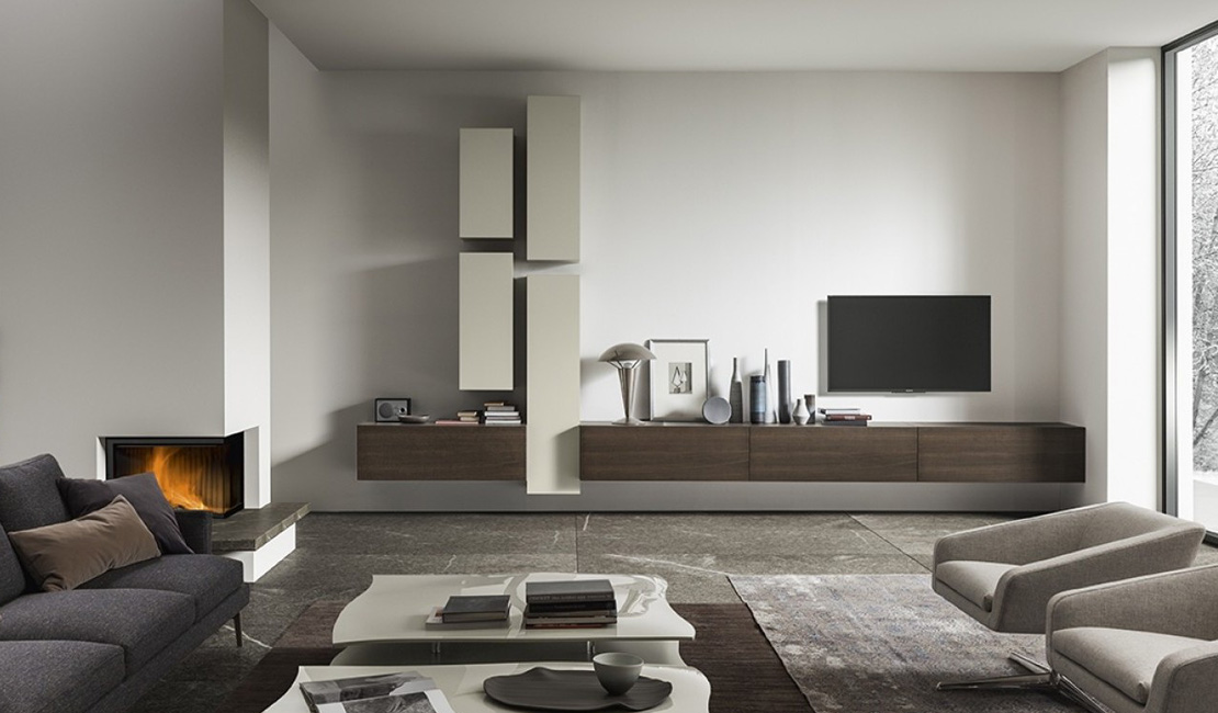 Wall + TV Units - Architectural Joinery and Furniture Sydney