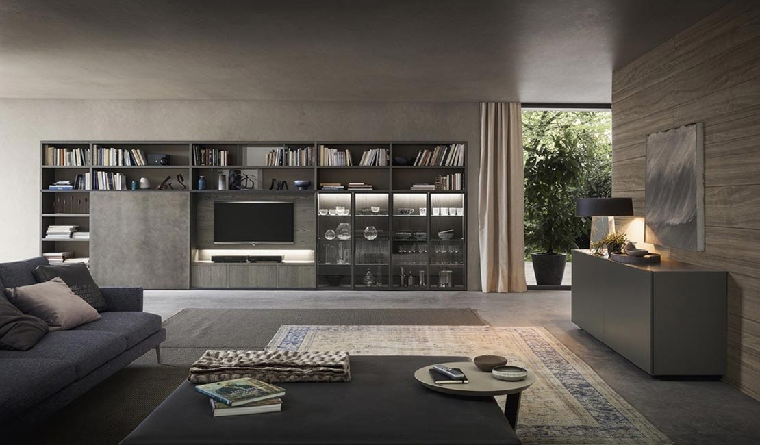 Eurolife - Glass Bookcases + Wall Storage Sydney