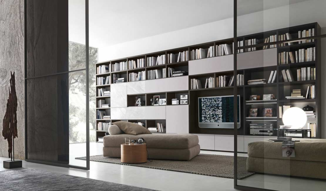 Eurolife - Custom Bookcases + Wall Storage Sydney