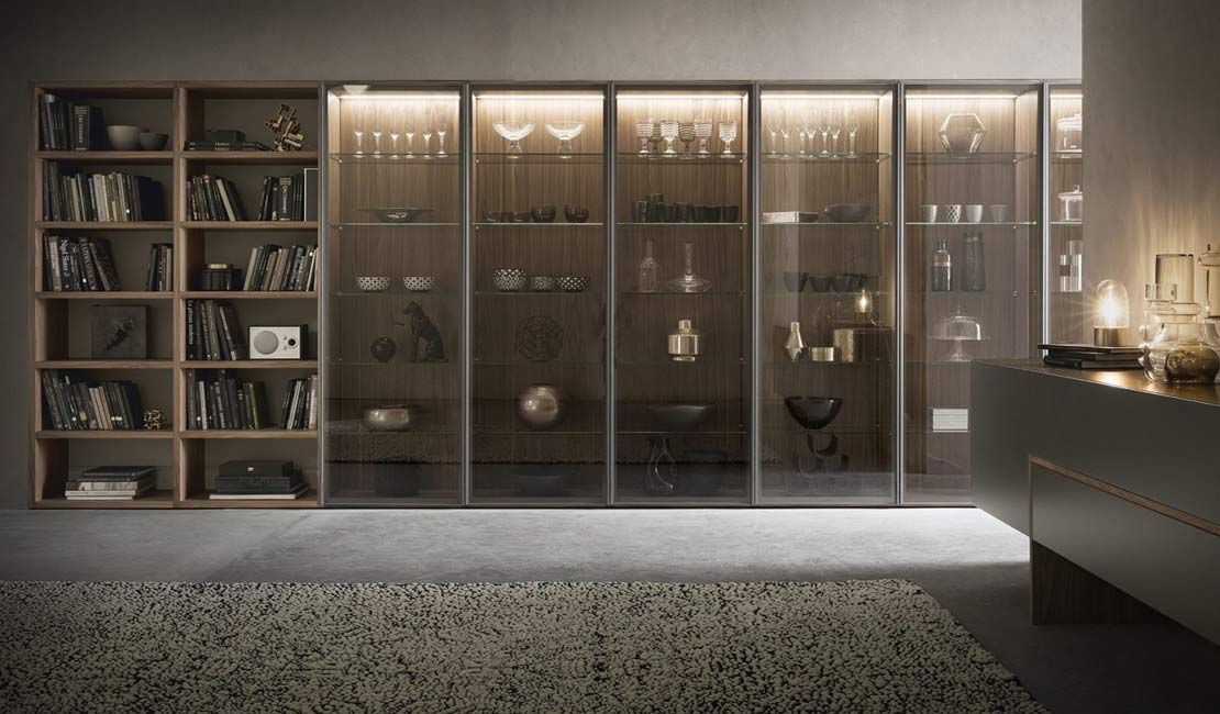 Architectural Joinery - European Bookcases + Wall Storage Sydney