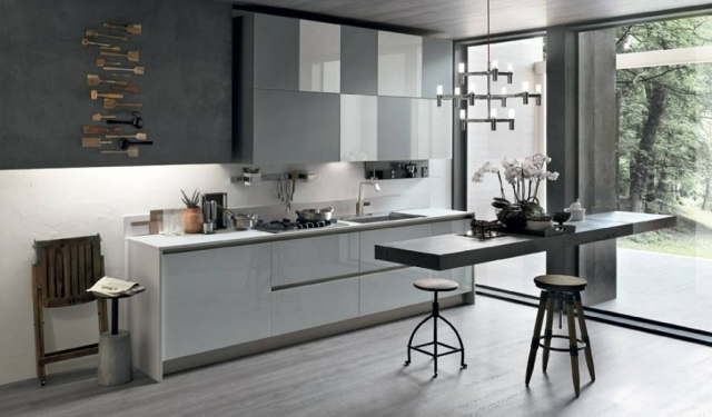 Eurolife - Grey Aliant Italian Kitchen Designs Sydney