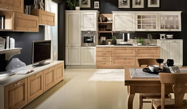 Bolgheri - Wooden Kitchen Cabinets Sydney