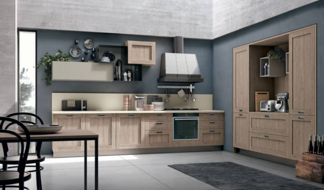 European Style Kitchen Cabinets - City