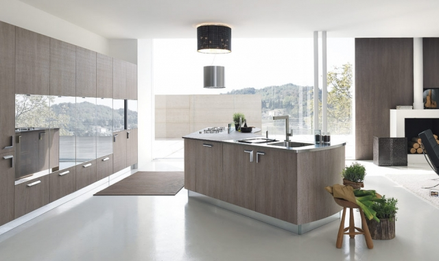 Grey Modern Kitchens Mosman - Milly Sydney