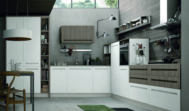 Grey Modern Kitchen Mood Design - Eurolife Sydney