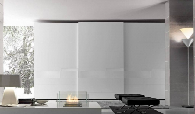 Split Modern Sliding Door Wardrobes Designs Sydney