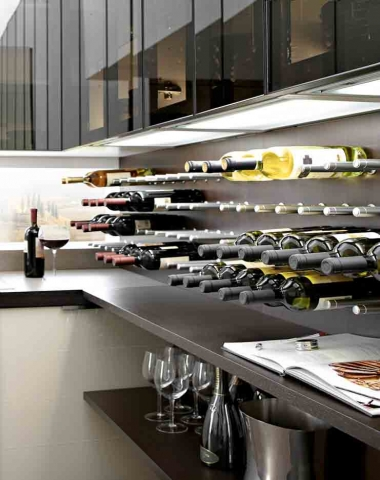 Wine Rack Kitchens Sydney - Eurolife Kitchens
