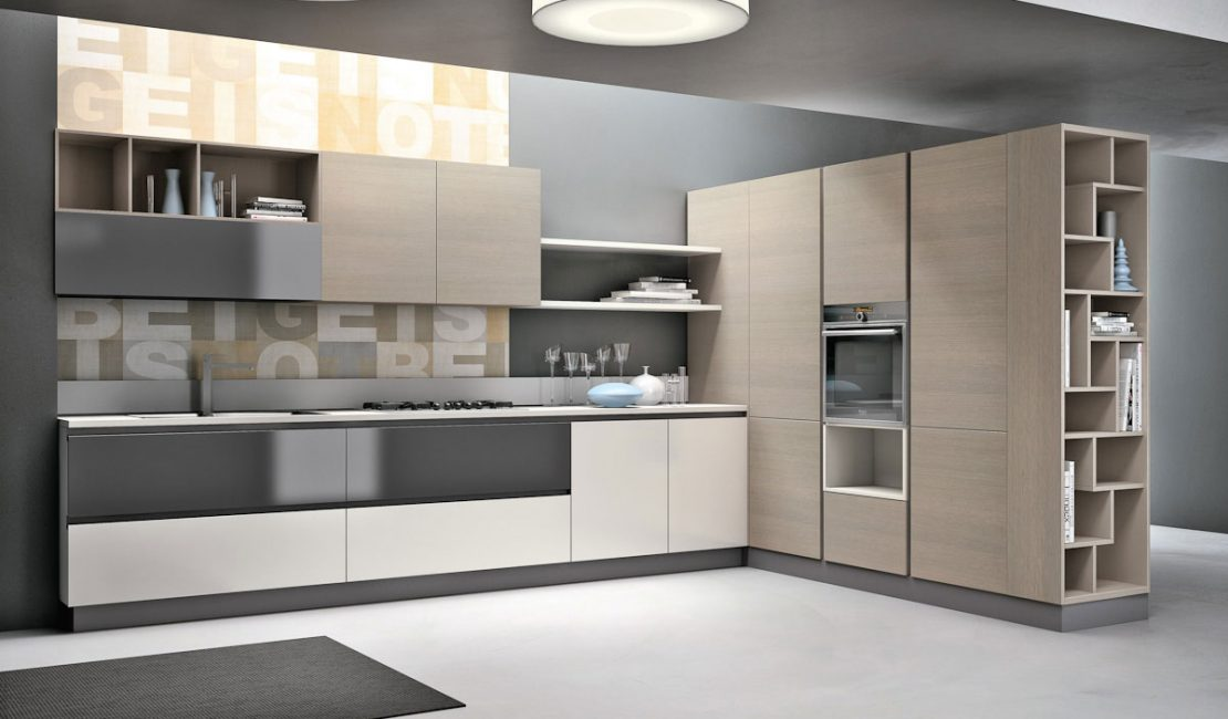 Aleve Sydney Modern Kitchen - Eurolife