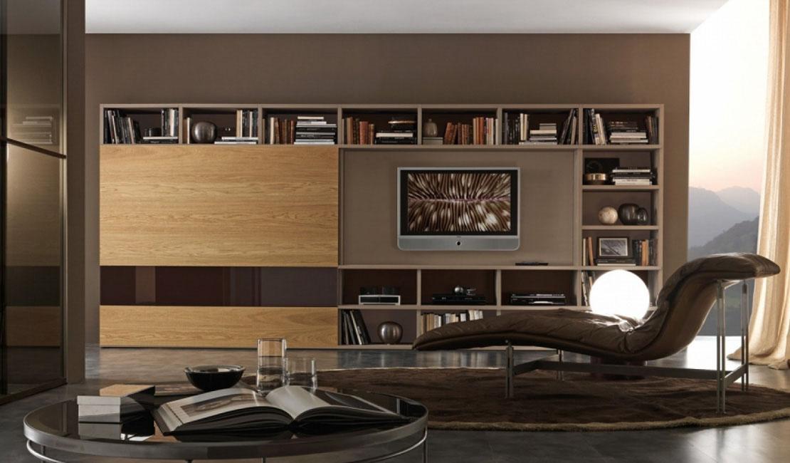 Bookcase Wall Storage Sydney - Eurolife