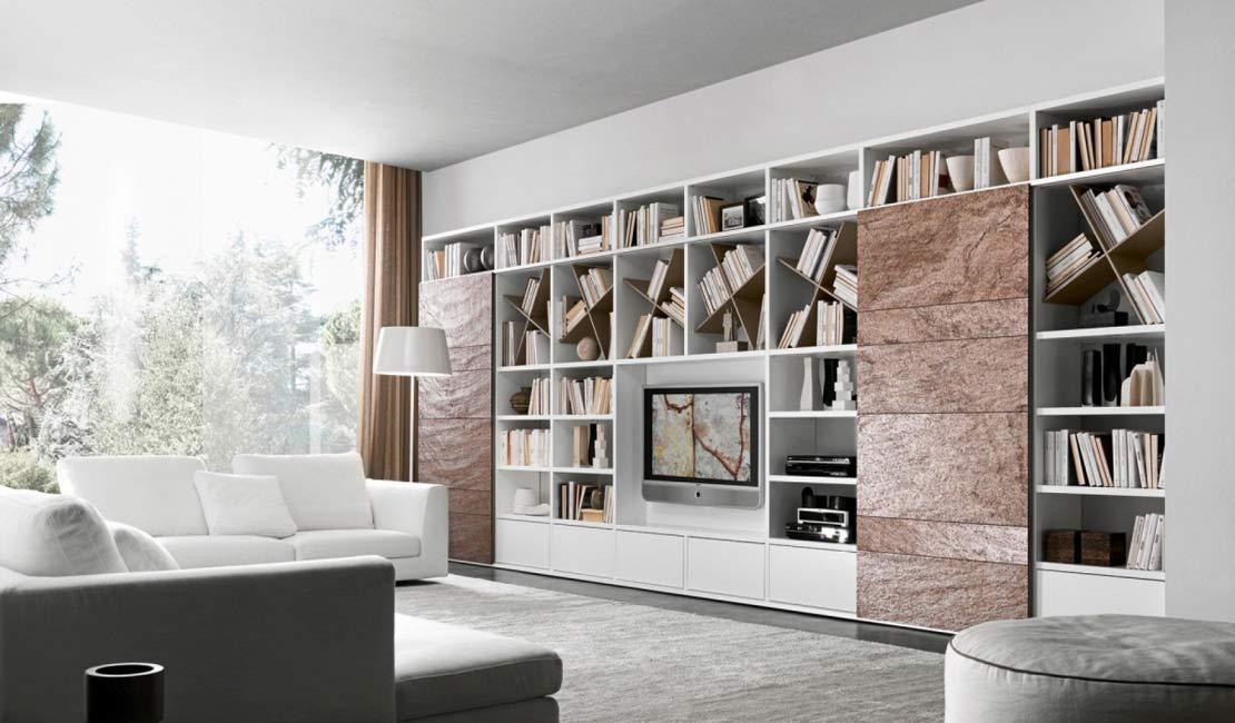 Sydney Wall Storage Bookcases - Eurolife