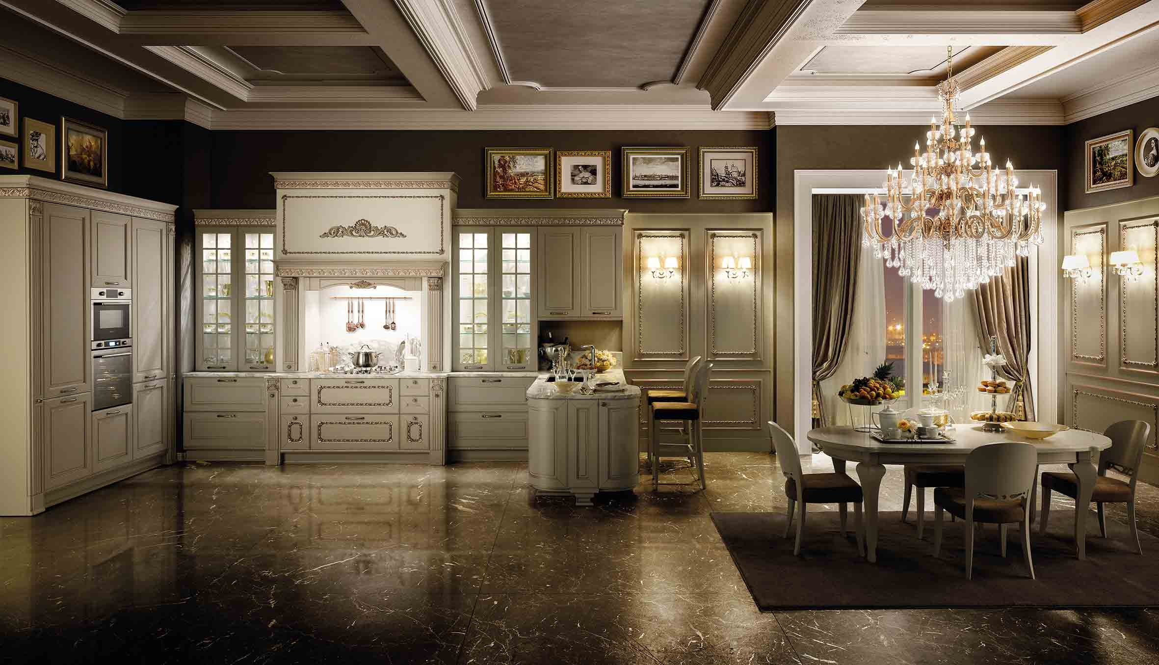 Classic Dolcevita Sydney Traditional Kitchen Renevotions - Eurolife