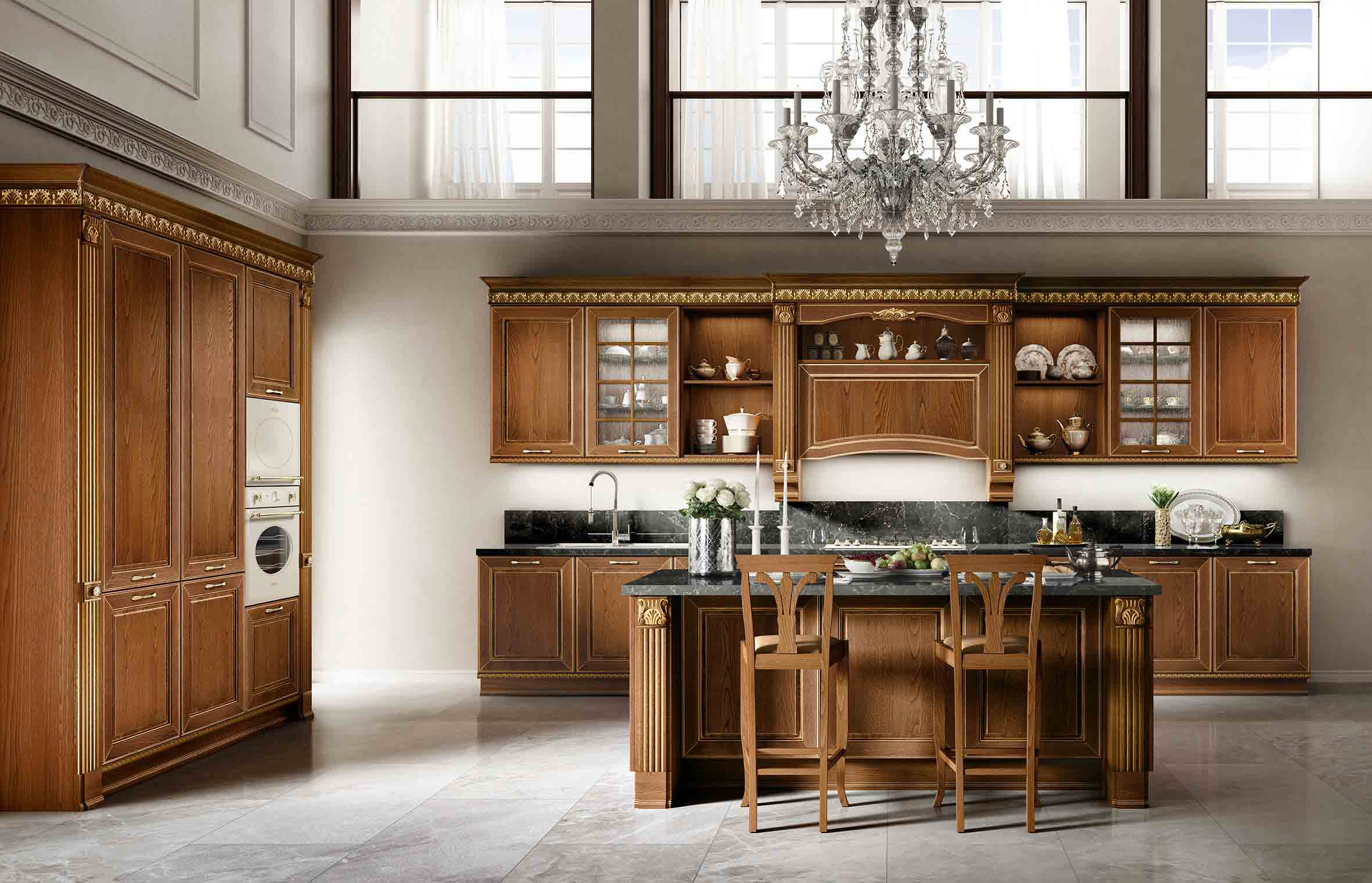 Classic Dolcevita Sydney Traditional Kitchens Renevotion - Eurolife