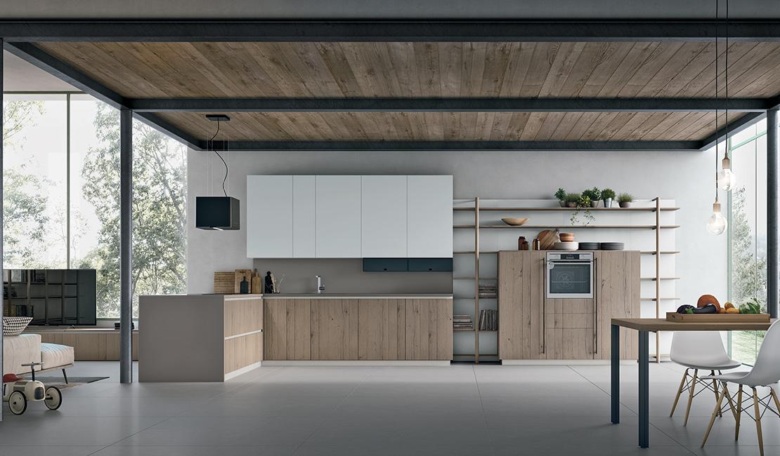 Halogen Natural Modern Kitchen Sydney - Eurolife