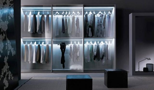 Sydney Glass Mirror slidingdoor Wardrobes - Eurolife